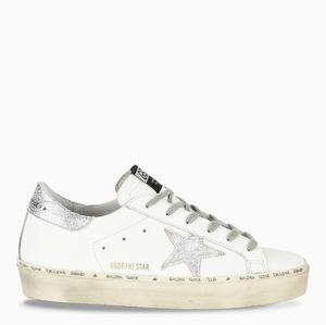 Golden Goose HI Star white Silver Sneakers